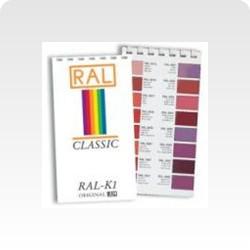 Vzorník RAL