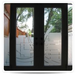 ETCHED GLASS ARLON 5400, š.: 122 cm