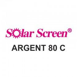 Argent 80C, barva stříbrná, š. 122 cm