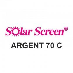 Argent 70C, barva stříbrná, š. 122 cm