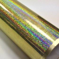 Fantasy holo gliter gold PRIME, š.61cm