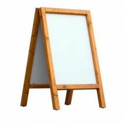 Dřevěný reklamní stojan Áčko A1 cedr