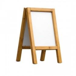 Dřevěný reklamní stojan Áčko A2 cedr