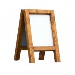 Dřevěný reklamní stojan Áčko A3 borovice